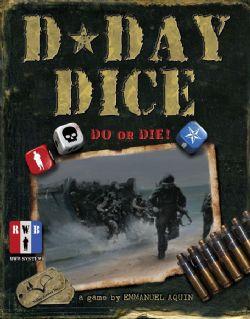D-DAY DICE -  JEU DE BASE (ANGLAIS)