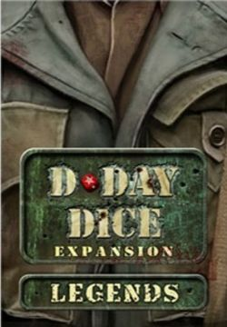 D-DAY DICE -  LEGENDS (ANGLAIS)