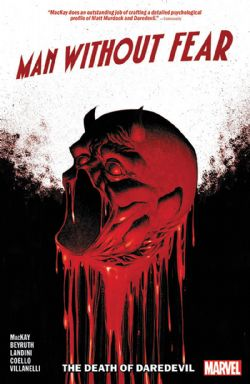 DAREDEVIL -  DEATH OF DAREDEVIL TP -  MAN WITHOUT FEAR