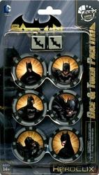 DC COMICS -  DICE & TOKEN PACK - BATMAN SET -  DC HEROCLIX