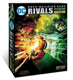 DC DECK-BUILDING GAME -  GREEN LANTERN VS SINESTRO (ANGLAIS) -  RIVALS