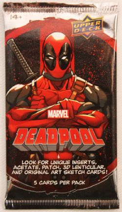 DEADPOOL -  UPPER DECK TRADING CARDS (P5/B18)
