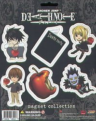 DEATH NOTE -  CHIBI AIMANTS