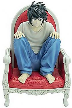 DEATH NOTE -  FIGURINE DE L (15CM)