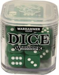 DES SPECIAUX -  ENSEMBLE DE D6 POUR WARHAMMER (20) - VERT