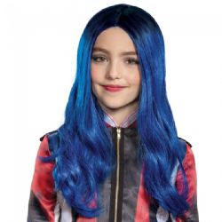 DESCENDANTS 3 -  PERRUQUE DE EVIE - BLEU (ENFANT)