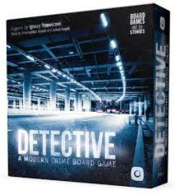 DETECTIVE : A MODERN CRIME GAME -  JEU DE BASE (ANGLAIS)