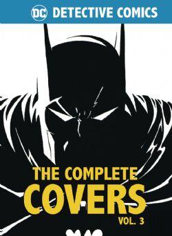 DETECTIVE COMICS -  COMPLETE COVERS MINI HC VOL. 3