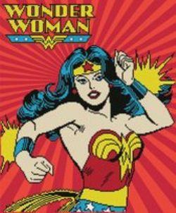 DIAMOND PAINTING -  WONDER WOMAN (47CM X 57CM) -  DC