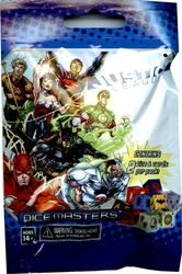 DICE MASTERS -  JUSTICE LEAGUE - BOOSTER PACK (ANGLAIS) -  DC