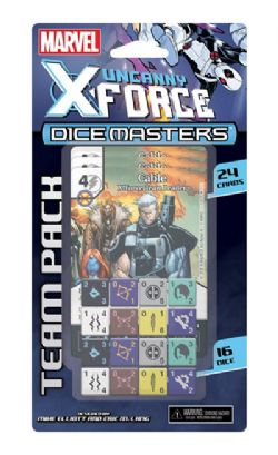DICE MASTERS -  X-FORCE TEAM PACK (ANGLAIS) -  MARVEL