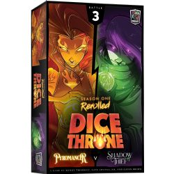 DICE THRONE -  PYROMANCER VS SHADOW THIEF (ANGLAIS) -  SEASON ONE REROLLED 3