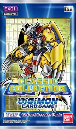 DIGIMON CARD GAME -  PAQUET BOOSTER CLASSIC COLLECTION (ANGLAIS) (P12/B24/C12)