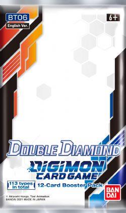 DIGIMON CARD GAME -  PAQUET BOOSTER DOUBLE DIAMOND (ANGLAIS) (P12/B24/C12)