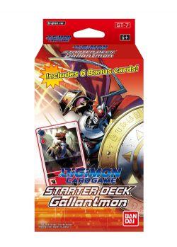 DIGIMON CARD GAME -  STARTER DECK - GALLANTMON (ANGLAIS) **LIMIT 1 PAR CLIENT**