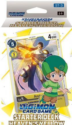 DIGIMON CARD GAME -  STARTER DECK - HEAVENS YELLOW (ANGLAIS)