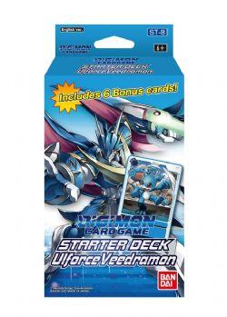 DIGIMON CARD GAME -  STARTER DECK - ULFORCE VEEDRAMON (ANGLAIS) **LIMIT 1 PAR CLIENT**