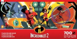 DISNEY -  INCREDIBLES 2 (700 PIÈCES) -  PANORAMIC