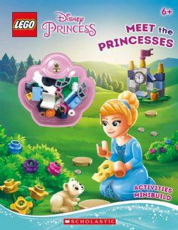 DISNEY PRINCESS -  LEGO - MEET THE PRINCESSES   - ACTIVITY BOOK