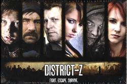 DISTRICT-Z -  JEU DE BASE - DISTRICT-Z (ANGLAIS)