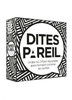 DITES PAREIL (FRANÇAIS)