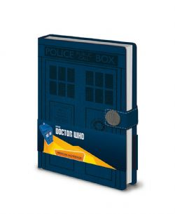 DOCTOR WHO -  CARNET POLICE BOX