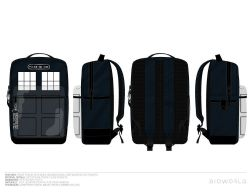 DOCTOR WHO -  SAC A DOS