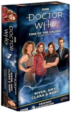 DOCTOR WHO : TIME OF THE DALEKS -  FRIENDS RIVER, AMY, CLARA & RORY (ANGLAIS)