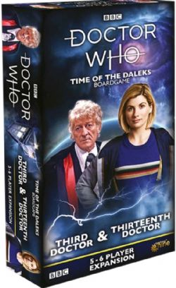 DOCTOR WHO : TIME OF THE DALEKS -  THIRD & THIRTEENTH DOCTOR (ANGLAIS)