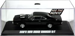 DODGE -  CHARGER R/T 1970 1/43 - NOIR -  RAPIDE ET DANGEREUX