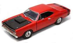 DODGE -  CORONET SUPER BEE 1969 1/24 - ROUGE