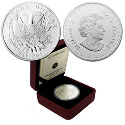DOLLARS ÉPREUVES NUMISMATIQUES -  100E ANNIVERSAIRE DE PARCS CANADA -  PIÈCES DU CANADA 2011 41