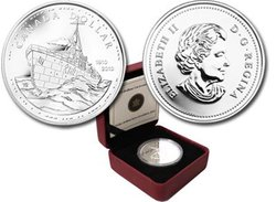 DOLLARS BRILLANTS -  100EME ANNIVERSAIRE DE LA MARINE CANADIENNE -  PIÈCES DU CANADA 2010