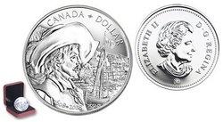 DOLLARS BRILLANTS -  400ÈME ANNIVERSAIRE DE LA VILLE DE QUÉBEC -  PIÈCES DU CANADA 2008