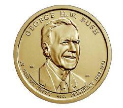 DOLLARS PRESIDENTIELS -  GEORGE H.W. BUSH (1989-1993)