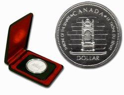 DOLLARS SPECIMENS -  25EME ANNIVERSAIRE DE L'ACCESSION AU TRÔNE DE LA REINE ELIZABETH II -  PIÈCES DU CANADA 1977