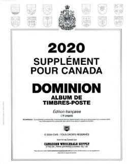 DOMINION -  SUPPLÉMENT 2020 (FRANÇAIS) (SANS POCHETTES)