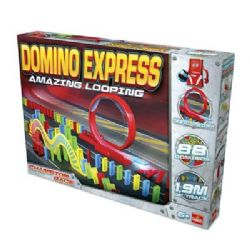 DOMINO RALLY -  DOMINO EXPRESS - AMAZING LOOPING