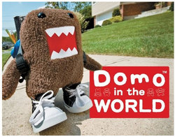 DOMO-KUN -  DOMO IN THE WORLD HC