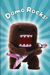 DOMO-KUN -  DOMO ROCKS! - CAHIER