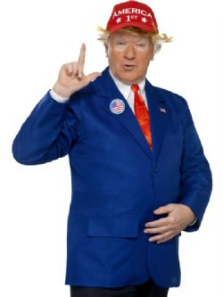 DONALD J.TRUMP -  COSTUME DE PRÉSIDENT (ADULTE)