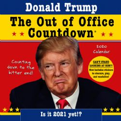 DONALD J. TRUMP -  THE OUT OF OFFICE COUNTDOWN - WALL CALENDAR: COUNTING DOWN TO THE BITTER END!