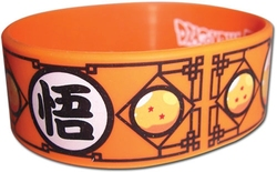 DRAGON BALL -  BRACELET EN CAOUTCHOUC
