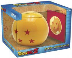 DRAGON BALL -  COFFRET CADEAU (TASSE 3D ET SOUS-VERRE)