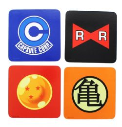 DRAGON BALL -  ENSEMBLE DE 4 SOUS-VERRES