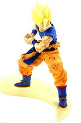 DRAGON BALL -  FIGURINE DE SON GOKOU EN SUPER SAIYAN (20 CM) -  DRAGON BALL Z