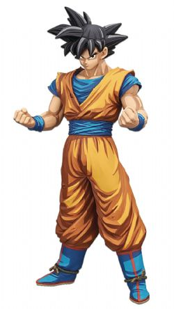 DRAGON BALL -  FIGURINE DE SON GOKU V2 (33CM) -  DRAGON BALL Z GRANDISTA