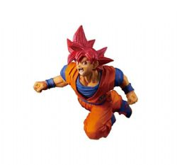 DRAGON BALL -  FIGURINE DE SUPER SAIYAN GOD (22 CM) -  SON GOKU FES V9