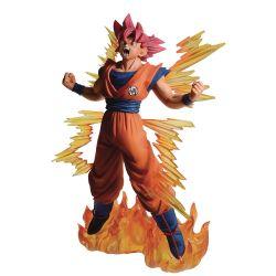 DRAGON BALL -  FIGURINE DE SUPER SAIYAN GOD SON GOKU (19 CM) -  DRAGON BALL SUPER