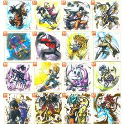 DRAGON BALL -  SHIKISHI (PLAQUE ILLUSTRÉE) SÉRIE 4